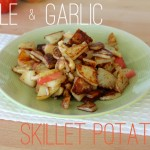 Apple and Garlic Potatoes