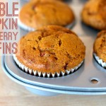 Double pumpkin muffins