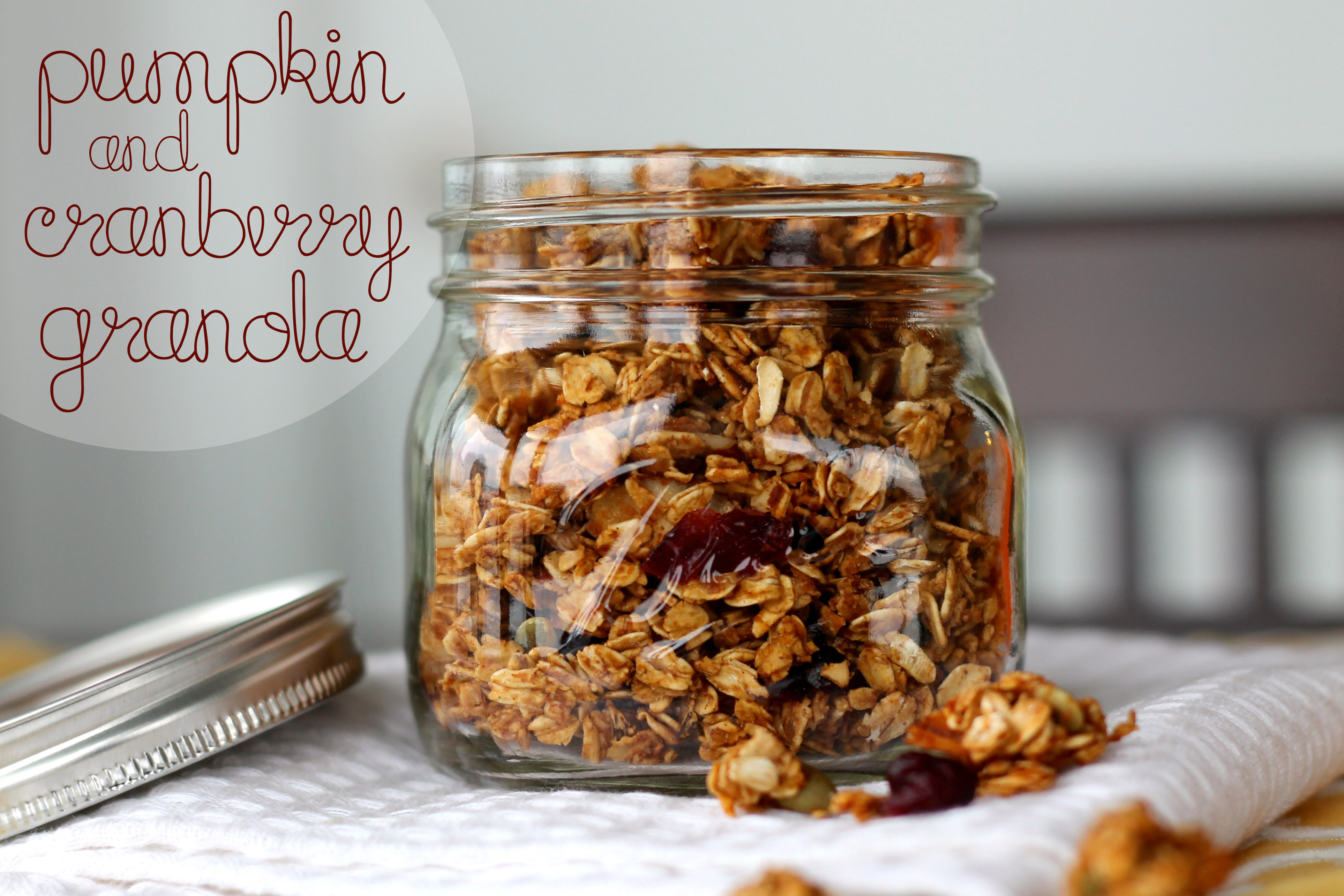 Cranberry Almond Granola Parfaits Recipe — Dishmaps