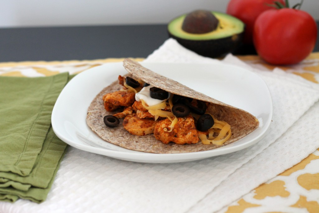 Taco Night Redemption: McCormick's Smoked Paprika Chicken Tacos