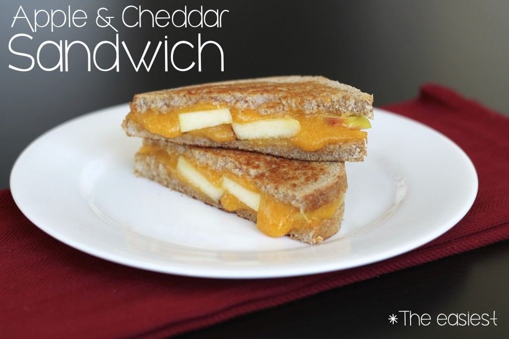 Apple and Cheddar Sandwich