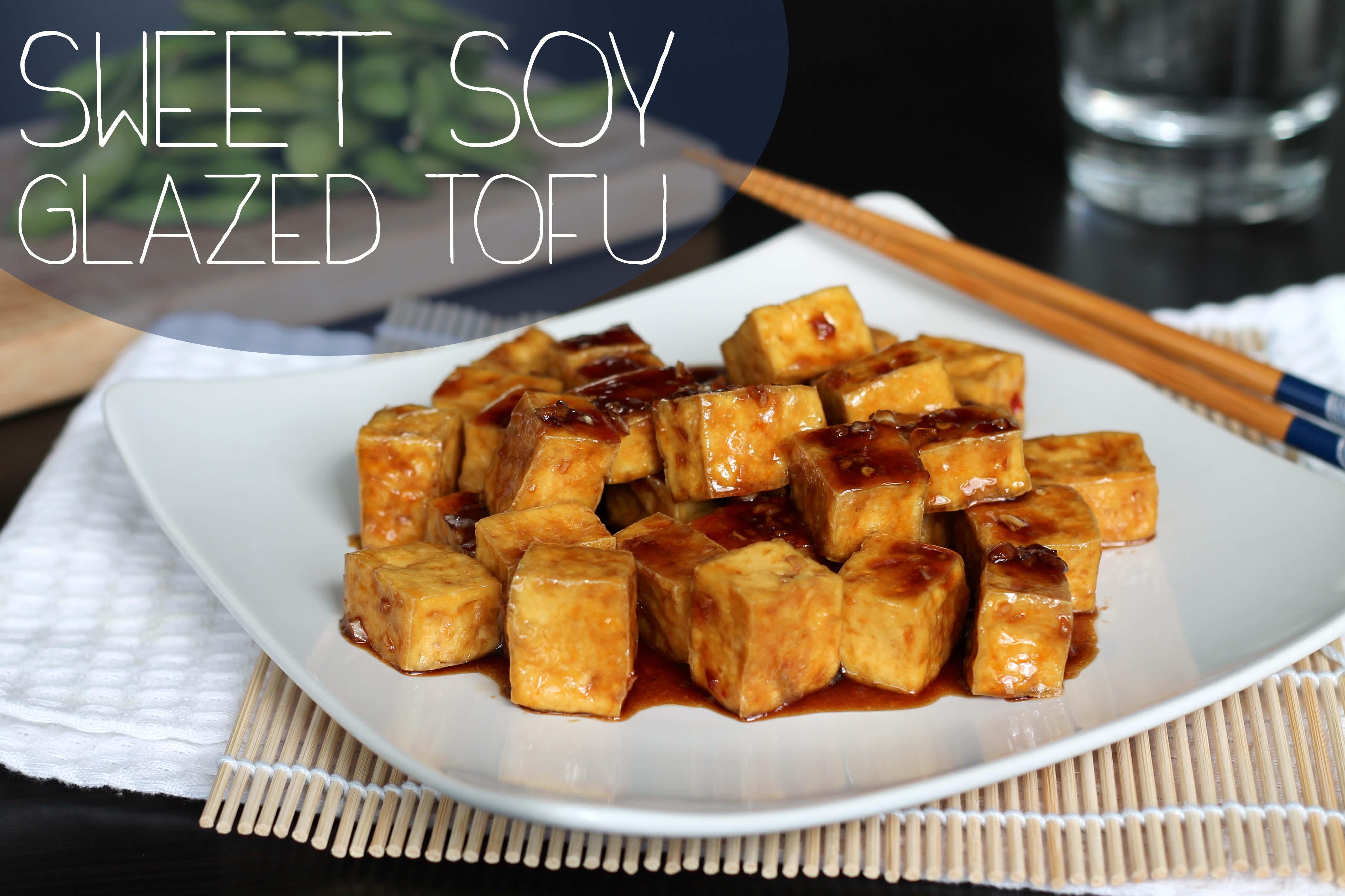 Sweet Soy Glazed Tofu